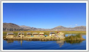 Titicaca-See: Uros Insel